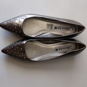 Studded Flat w/ slight heel